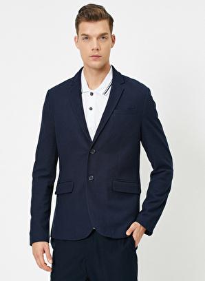 Koton Cep Detaylı Dügmeli Blazer Ceket